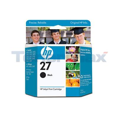 HP NO 27 INK CARTRIDGE BLACK